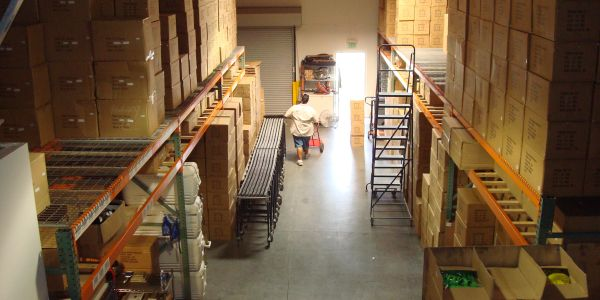 View of our warehouse.