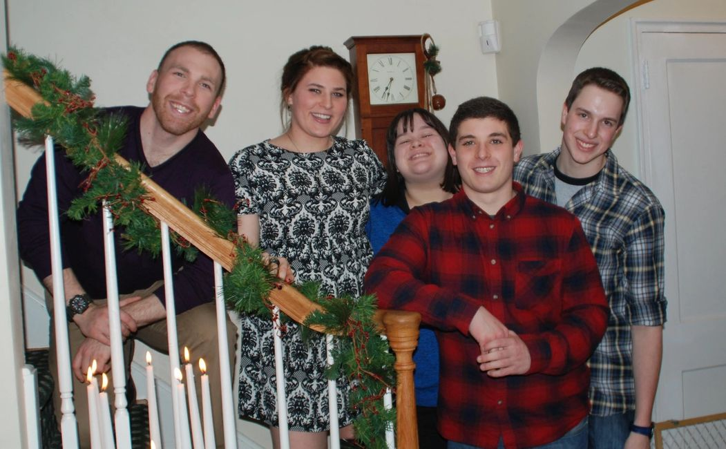My beautiful family!! Our children: Anthony, Alex, Katie, Vinny & Nick