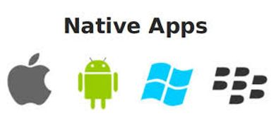 native apps apple android windows burberry