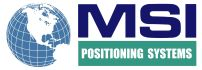 MSI  POSITIONING SYSTEMS