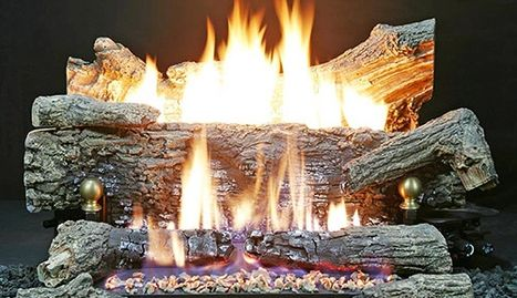 Light Up Gas Logs in Fireplace