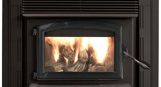 The 74ZC  is a non-catalytic wood burning stove with up to 52,400 BTU's, heating up to 2600 sq. ft.