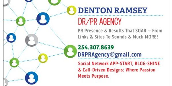 DRPR Agency Denton Ramsey Business Card