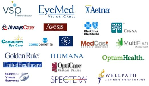Vision Insurances we accept at Advanced Eye Clinic. Schedule a routine eye exam today.