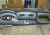 Custom fiberglass '37 Ford dash with grey carbon fiber finish and AT3200.