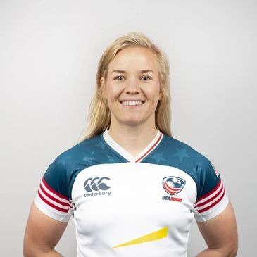 Co-founder Kristine Sommer, USA Rugby Eagle Number 264.