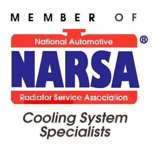 Member of National Automotive Radiator Service Association