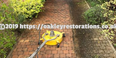 Driveway Cleaning Service in Bedfordshire - Oakley Restorations Pressure Washing Driveways