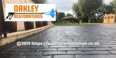 Block paving that's been sealed in Bedfordshire by Oakley Restorations