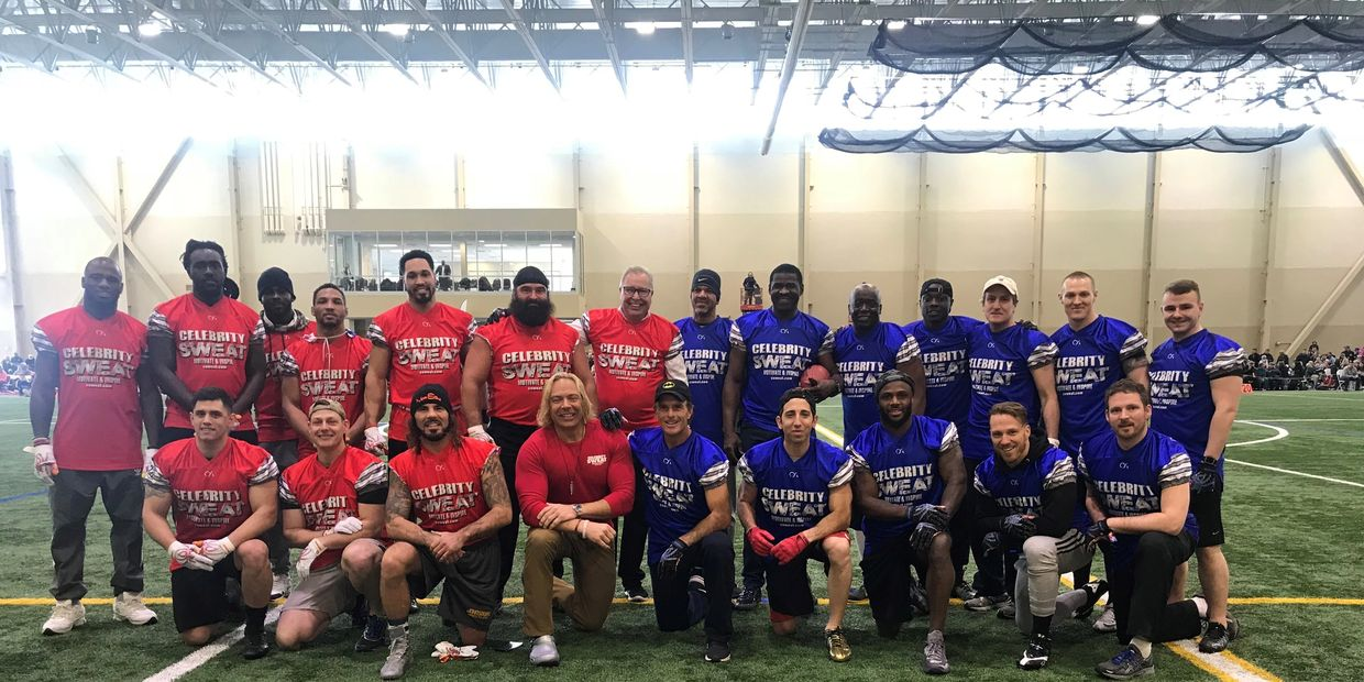 2018 Celebrity Flag Football Challenge, presented by SppSports.
