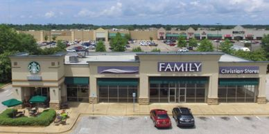 Retail space for lease in Montgomery directly in front of Walmart.