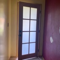 8 lite translucent door