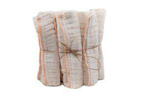 Unbleached, Cotton, Cloth, Pre-fold diapers