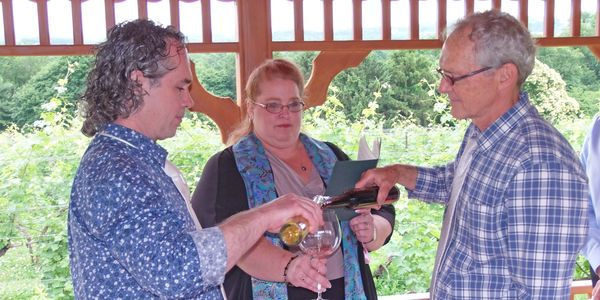 Wine Sharing Ceremony, PA Wedding Officiant