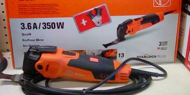 Fein oscillating power tool. The standard of excellence.