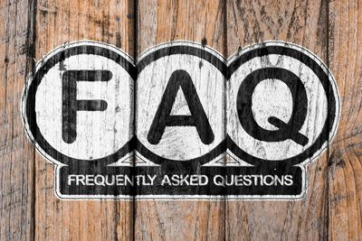 Customers' most Frequently Asked Questions (FAQ) are listed here, divided by topic.