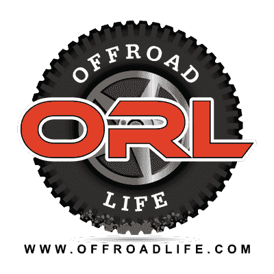 Full color Offroad Life Signature Tire Logo with website address displayed.