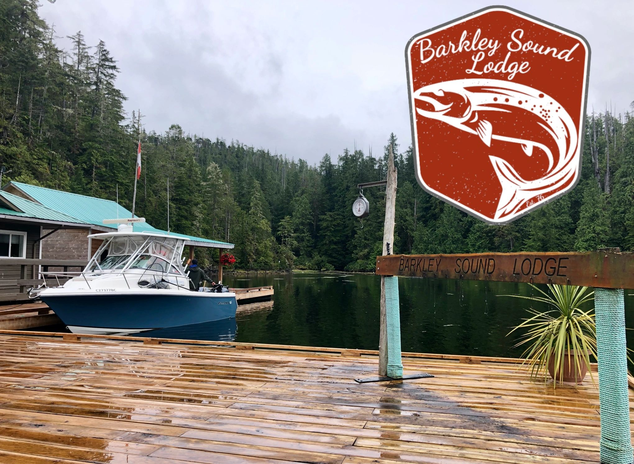 Fishing Charter Barkley Sound Lodge with Coastal Blue Adventures. Fishing Nanaimo