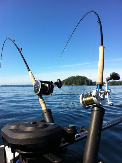 Coastal Blue Adventures, fishing on Vancouver Island near Nanaimo British Columbia