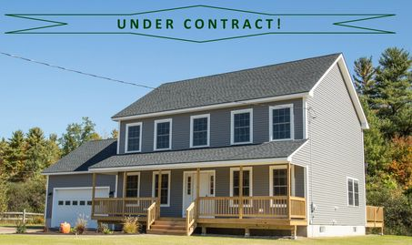 Under Contract, home, new construction, Portico Realty, southern maine