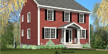 Butterscotch, New construction, 26 Bittersweet Lane, South Berwick, Maine, real estate