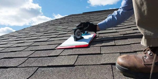 Checking roof pitch