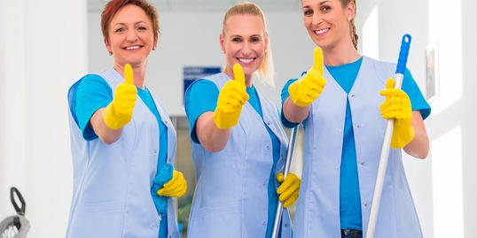 Our cleaning team guarantees your satisfaction