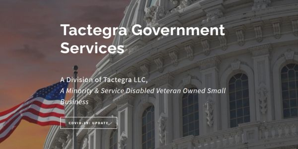 tactegragov.com is a professional services management consulting firm focused on government clients
