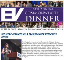 Ann Murdoch Speaks at Equality Virginia's Commonwealth Dinner.