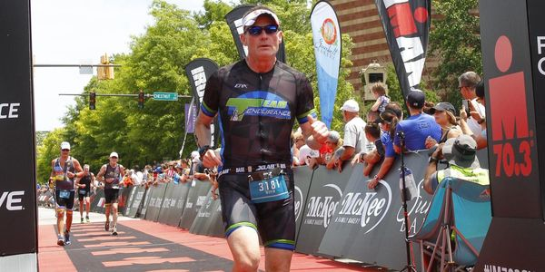 Kevin Chattanooga 70.3 Finish