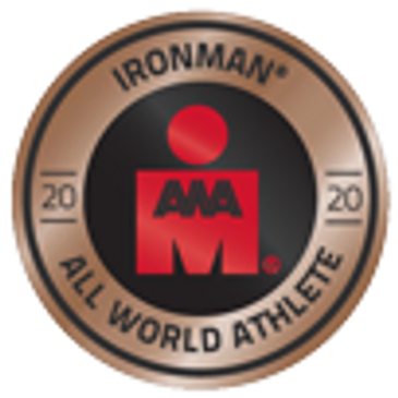 All Worlds Athlete 2020 Badge