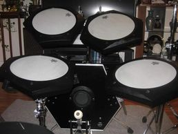 5-Piece Electronic Drum Kit 1 Kick Pad w/legs
