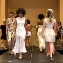 2018 Fashion Show Beauty & Wellness Event. All the models walking the runway after the Fashion show.