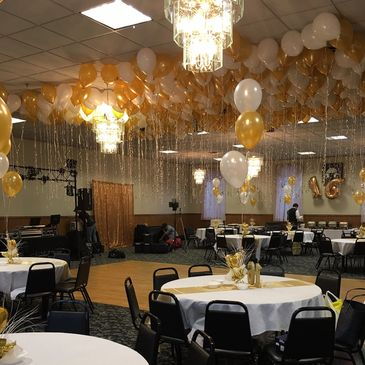 Sweet 16 Event- DJ, Photo Booth, Lighting, Balloons, Caterer,