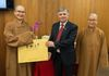 Donation of Encyclopedia of Buddhist Arts to SIUE. 2017.11.07