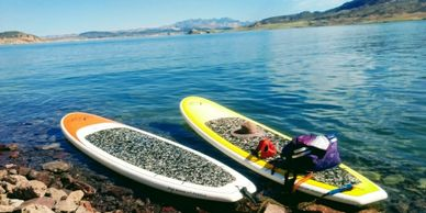 Rent a board or two and explore the Lake Mead National Recreation Area by SUP.