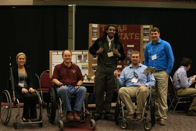 Founder and Texas State Manufacturing Engineering Students