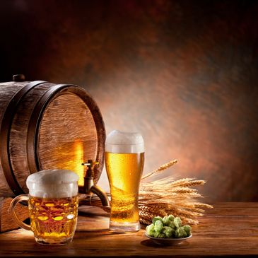 Beer Lager and Oak Barrel for aging Whusky, Rum, Whiskey and Herbal Liquors plus Hawaii Pineapple and Ulukila Spirits for Royal Hawaii Spirits Brandy ,Whisky and Aged Rum Production