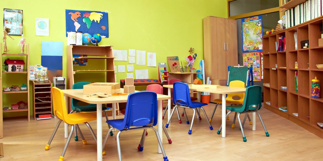 The furniture has been curated keeping the safety of children in mind.