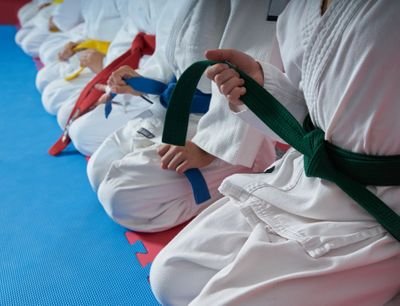 Earn your black belt with our federation