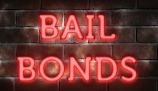 bail bonds, bondsman, opposing party, warrant, issued, subpeona, judge, bonded out, out on bail, let