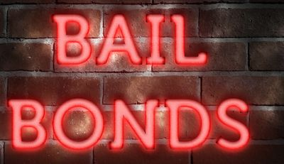 When someone is arrested a bail bond is set and must be posted by bail bondsman to get out of jail.