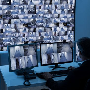 We take a proactive approach with live surveillance monitoring. Our highly trained staff monitor key