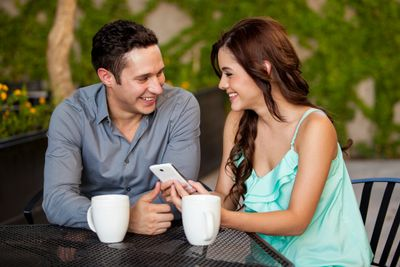 relationship coach, relationship coaching, marriage, happy couple, couple texting coach