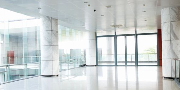 commercial window glass repair- storefront glass repair -  storefront installation - sliding door