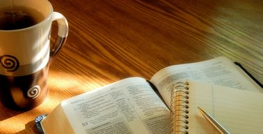 We offer Bible study groups here at Freshwaters. Ask at the office and see which one fits into your