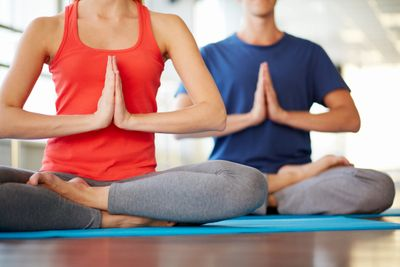 Yoga for flexibility and stress reduction at Amherst Fitness