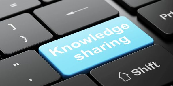 Knowledge sharing button on keyboard
