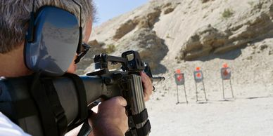Rifle classes at northern colorado shooting park