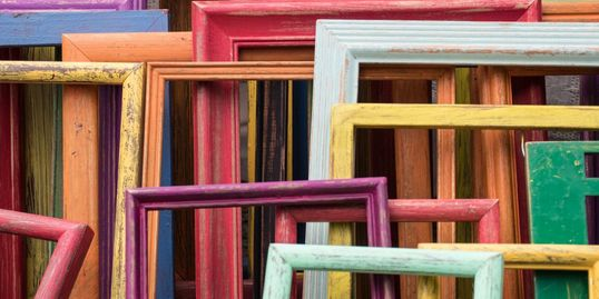 Framing frames art
